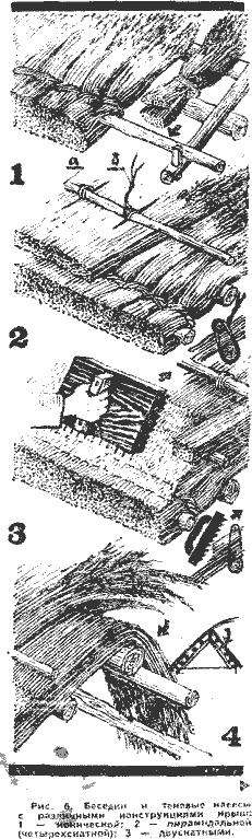 Как сделать солому для крыши 621